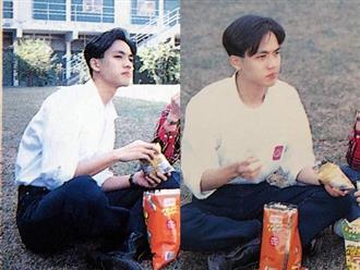"""Bức ảnh Chung Hán Lương hồi năm 18 tuổi đang gây sốt, fan cảm thán: """"Đây mới đúng là Hà Dĩ Thâm thời trẻ chứ!"""""""