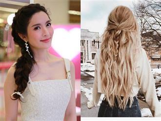 Các kiểu tết tóc giúp bạn tránh nắng nóng mùa hè