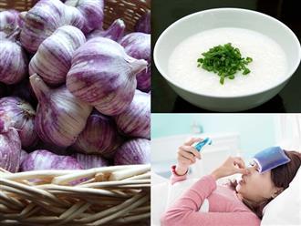 Cách chữa cảm cúm tại nhà cực đơn giản từ những nguyên liệu tự nhiên có sẵn trong bếp