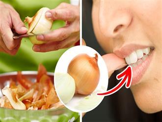 Cách chữa đau răng cực nhanh tại nhà với những nguyên liệu có sẵn trong bếp