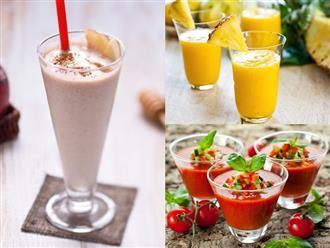 Cách làm 3 loại sinh tố giảm cân cực đơn giản tại nhà, mỡ thừa dày đến mấy cũng tan nhanh chóng