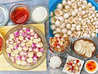 Cách làm cà muối xổi ăn ngay giòn ngon cực đơn giản, dùng bao nhiêu cơm cũng hết