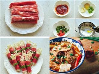 Cách làm canh kim chi thịt bò bổ dưỡng chuẩn vị Hàn cho cả gia đình thưởng thức ngày mưa
