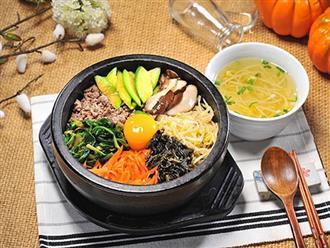Cách làm cơm trộn Bibimbap đúng kiểu Hàn Quốc