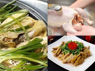 Cách làm món gà hấp hành thơm ngon chuẩn vị giúp thay đổi khẩu vị cho cả gia đình