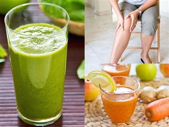 Cách làm những loại thức uống thơm ngon giúp trị viêm khớp, đau nhức cực hiệu quả tại nhà