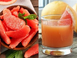 Cách làm nước ép bưởi ngon không bị đắng, uống mỗi ngày sẽ giúp giảm cân nhanh chóng