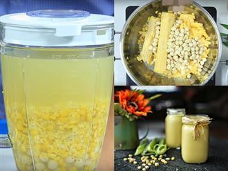 Cách làm sữa ngô hạt sen thơm ngon cực đơn giản tại nhà, vừa giúp đẹp da vừa chữa mất ngủ hiệu quả