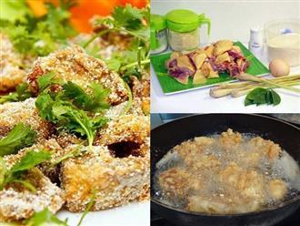 Cách làm thịt gà rang muối cực đơn giản, ai ăn cũng phải nức nở khen ngon