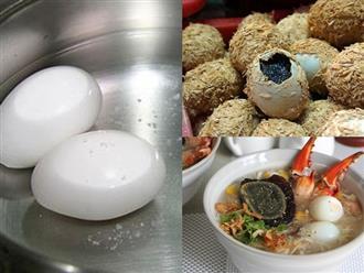 Cách làm trứng vịt bắc thảo bổ dưỡng cực đơn giản giúp cung cấp năng lượng cho cả gia đình