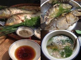 Cách nấu cháo cá chép nguyên con đơn giản lại không hề bị tanh, ai ăn cũng mê ngay