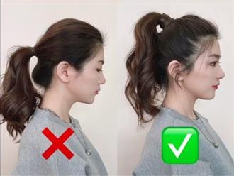 Cách tạo kiểu tóc đơn giản chỉ vài phút giúp bạn trẻ ra hẳn 10 tuổi, ai cũng có thể thực hiện
