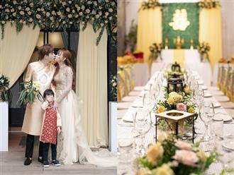 Cận cảnh đám cưới 'đẹp như mơ' của ca sĩ Thu Thủy và bạn trai kém 10 tuổi tại TP. Hồ Chí Minh