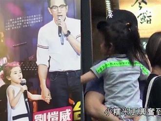 Cận cảnh gương mặt con gái Dương Mịch - Lưu Khải Uy: Xinh xắn từ nhỏ, thừa hưởng nhiều nét đẹp của cả bố và mẹ