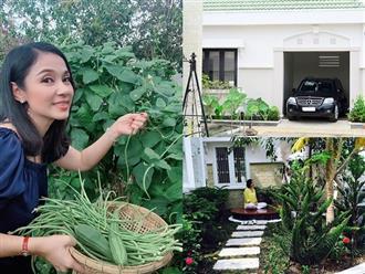 Cận cảnh khu vườn rộng 2500m2 trong biệt thự bạc tỷ của diễn viên Việt Trinh khiến ai nấy đều choáng ngợp