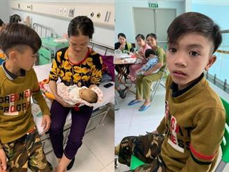 Cậu bé 13 tuổi đạp xe hơn 100km từ Tây Bắc về Hà Nội thăm em