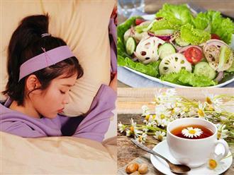 Chẳng còn nỗi lo thức trắng đêm nhờ những thực phẩm giúp chữa mất ngủ tự nhiên và nhanh chóng này