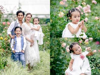 Chào đời với cân nặng chưa đầy 2kg, con gái Khánh Thi nay đã cao lớn phổng phao và cực xinh xắn trong bộ ảnh mới