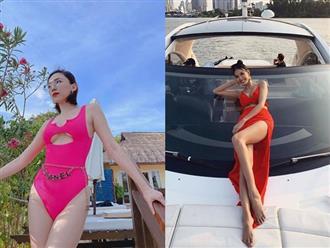 Chào hè, loạt mỹ nhân Việt khoe vóc dáng với bikini, váy vóc cực gợi cảm