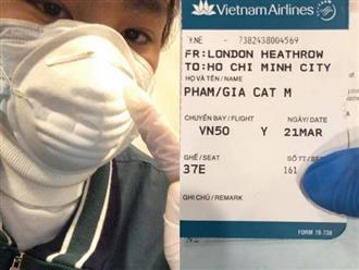 Chi Bảo 'đứng ngồi không yên' khi hay tin con trai từ Anh trở về ngồi cùng chuyến bay với bệnh nhân nhiễm Covid-19