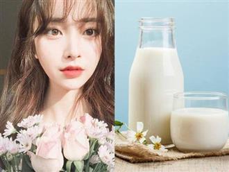 Chỉ dùng sữa tươi đừng mơ có làn da trắng, bạn phải cho thêm thứ này vào nữa cơ