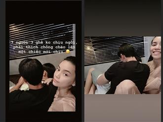 Chia sẻ khoảnh khắc cực thú vị bên Kim Lý và Subeo, Hà Hồ tiếp tục bị fan hối lên xe hoa