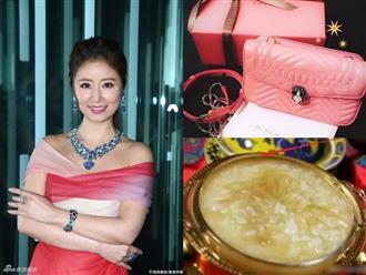 Chiều con gái như Lâm Tâm Như: Ăn vi cá bằng bát vàng, tặng túi xách 350 triệu, gia tài nữ trang lên đến 300 tỷ đồng
