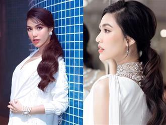 Chiêu makeup cơ bản giúp Lan Khuê luôn tươi tắn, rạng rỡ