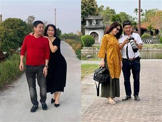 Chí Trung khoe loạt ảnh ngọt ngào bên người yêu, nhan sắc bạn gái kém 17 tuổi gây chú ý