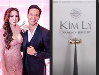 Chưa đến Lễ Tình nhân nhưng Hà Hồ đã khoe nhận được quà 'khủng' từ Kim Lý