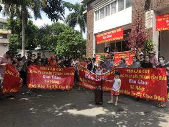 Chung cư Kim Tâm Hải: Chủ đầu tư chiếm dụng không gian chung, bị xử phạt, buộc khắc phục hậu quả