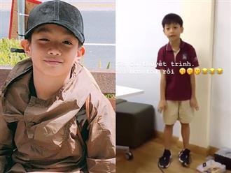 Clip: Con trai Hồ Ngọc Hà – Cường Đô la gây sốt vì khả năng 'bắn' tiếng Anh như gió cùng biểu cảm cực đáng yêu