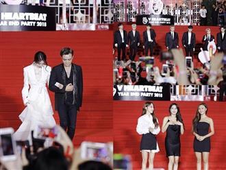 Clip: Dàn sao đình đám đổ bộ thảm đỏ sự kiện âm nhạc Hàn – Việt lớn nhất năm, fan reo hò như 'vỡ trận'