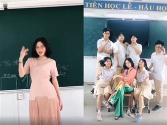 Cô giáo hot nhất Tik Tok Việt Nam, mặt đã xinh mà dáng lại còn chuẩn thế này thì khối anh mê mệt