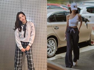 """Có một kiểu quần ống rộng """"hot hit"""" đáng để bạn sắm ngay lúc này: Đến Rosé, Jisoo, Seulgi còn mê thì bạn ắt cũng """"đổ"""""""