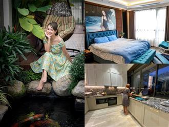 Cơ ngơi của MC Vân Hugo: 1 căn hộ cao cấp ở Hà Nội, 1 biệt thự trắng ở Sài Gòn, nhìn đâu cũng mê
