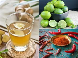 Có sẵn những nguyên liệu này trong bếp, cho ngay vào nước uống để thanh lọc cơ thể nhanh chóng