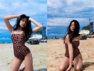 Con gái 15 tuổi của Lưu Thiên Hương khiến dân mạng ngỡ ngàng vì nhan sắc xinh đẹp, diện bikini tạo dáng đầy thần thái