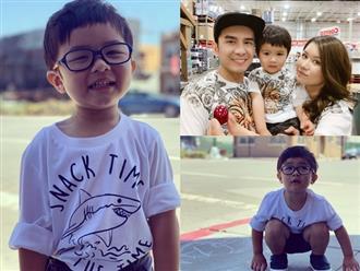 Con trai Đan Trường mắc bệnh nguy hiểm về mắt, thường xuyên phải đeo kính nếu không muốn giảm thị lực vĩnh viễn