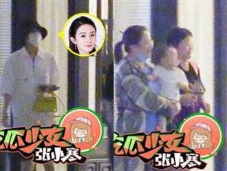 Con trai Triệu Lệ Dĩnh lần đầu lộ diện, netizen thích thú vì cậu bé cao lớn phổng phao, đầy hiếu động