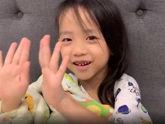 Mới 5 tuổi, con trai Ốc Thanh Vân đã đọc vanh vách bảng cửu chương khiến nhiều người ngỡ ngàng
