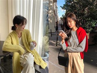 Copy 5 công thức này, đảm bảo bạn mặc cardigan xinh yêu như gái Hàn