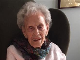 """Cụ bà 102 tuổi chiến thắng 2 đại dịch: """"Nó không tệ"""""""