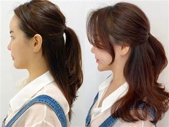 """Cứ diện tóc buộc nửa là trông """"quê kiểng"""", có thể do bạn đã bỏ qua vài thao tác"""