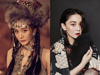 Cùng lên bìa tạp chí: Dương Mịch đẹp ma mị đọ sắc với 'tình địch một thời' của Phạm Băng Băng