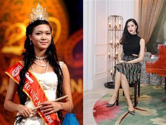 Cuộc đời Hoa hậu Việt Nam duy nhất đánh rơi vương miện, vận xui đeo bám nhiều năm