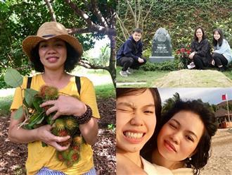 Cuộc sống bình yên ít ai biết của vợ con cố nhạc sĩ Trần Lập ở thời điểm hiện tại, lúc nào cũng bên cạnh và yêu thương nhau