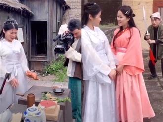 Cười chảy nước mắt trước loạt hậu trường hài hước trong phim cổ trang Hoa ngữ