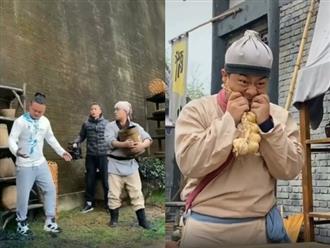 Cười té ghế với loạt hậu trường hài hước đằng sau những thước phim cổ trang Trung Quốc, nhiều phân cảnh khiến khán giả ngã ngửa