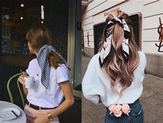 """Cuối tuần đi chơi, phe tóc dài mà diện kiểu tóc này thì crush có lạnh lùng đến mấy cũng """"say như điếu đổ"""""""